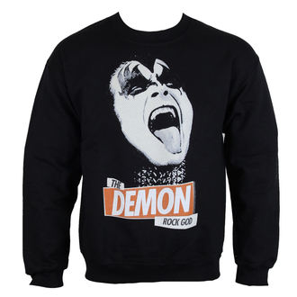 sweatshirt (no hood) men's Kiss - Rock God - LOW FREQUENCY, LOW FREQUENCY, Kiss