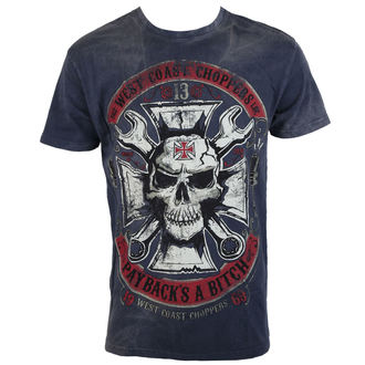 t-shirt men's - MECHANIC - West Coast Choppers, West Coast Choppers