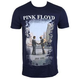 t-shirt metal men's Pink Floyd - Burning Man Navy - LOW FREQUENCY, LOW FREQUENCY, Pink Floyd