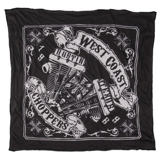 Kerchief West Coast Choppers - ENGINA PANHEAD - BLACK, West Coast Choppers