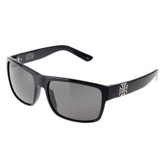 Glasses West Coast Choppers - SHINY BLACK SMOKED - WCCZBOO7ZW