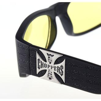 Glasses West Coast Choppers - WCC GANGSCRIPT - MATTE BLACK YELLOW