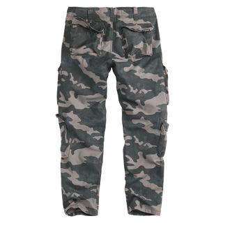Pants men's SURPLUS - AIRBORNE SLIMMY - BLACK CAMO, SURPLUS