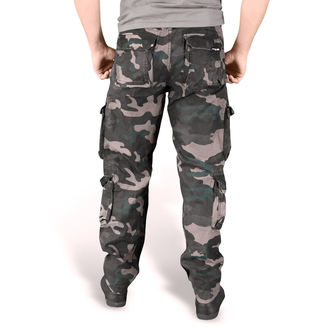 Pants men's SURPLUS - AIRBORNE SLIMMY - BLACK CAMO - 05-3603-42