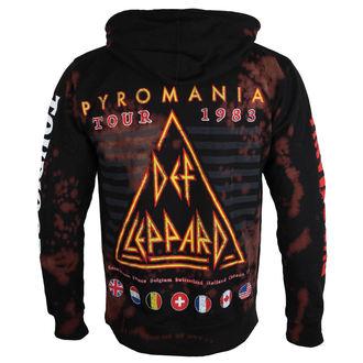hoodie men's Def Leppard - PYROMANIA - BAILEY, BAILEY, Def Leppard