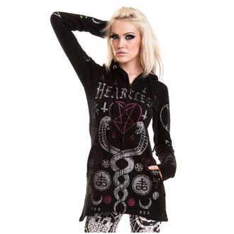Sweater women's HEARTLESS - KAAMOS - BLACK, HEARTLESS