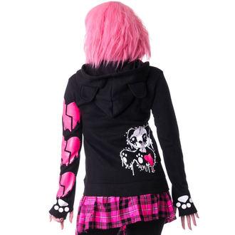 hoodie women's - KP MASCARA - KILLER PANDA, KILLER PANDA