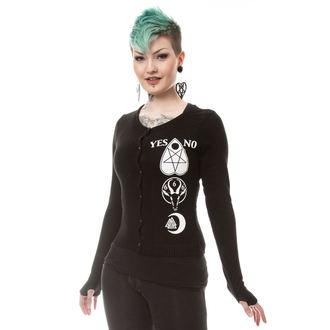 sweater women's HEARTLESS - HEAVEN - BLACK, HEARTLESS