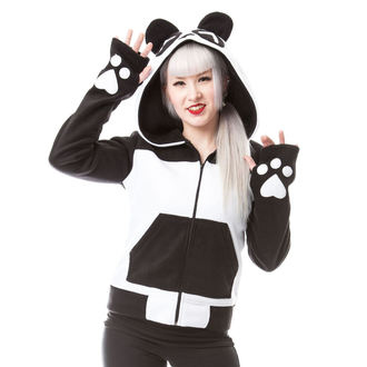hoodie women's - KP SPLIT UP - KILLER PANDA, KILLER PANDA