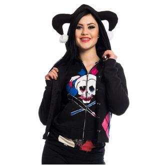 hoodie women's Suicide Squad - HARLEY REBEL - POIZEN INDUSTRIES, POIZEN INDUSTRIES
