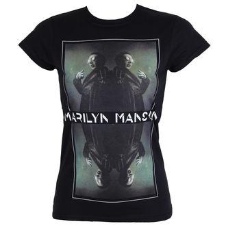 t-shirt metal women's Marilyn Manson - Mirrored - ROCK OFF, ROCK OFF, Marilyn Manson