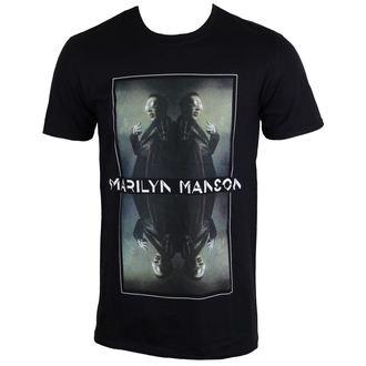 t-shirt metal men's Marilyn Manson - Mirrored - ROCK OFF, ROCK OFF, Marilyn Manson