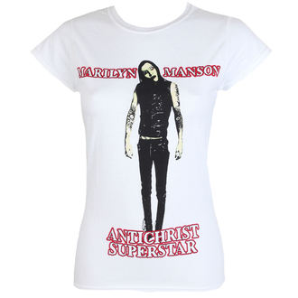 t-shirt metal women's Marilyn Manson - Antichrist - ROCK OFF, ROCK OFF, Marilyn Manson
