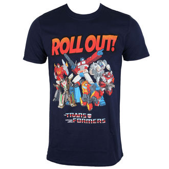 film t-shirt men's Transformers - Roll Out - ROCK OFF - TRSTS06MN