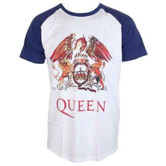 t-shirt metal men's Queen - Classic Crest - ROCK OFF, ROCK OFF, Queen
