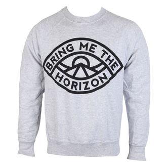 sweatshirt (no hood) men's Bring Me The Horizon - Eye Grey - ROCK OFF, ROCK OFF, Bring Me The Horizon