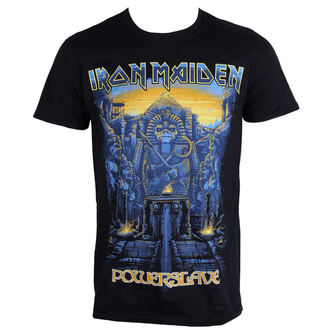 t-shirt metal men's Iron Maiden - Dark Ink Powerslaves - ROCK OFF, ROCK OFF, Iron Maiden