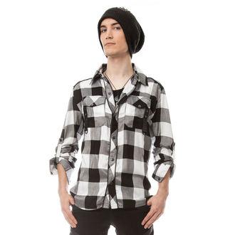 Shirt men's VIXXSIN - LEFT FIELD - WHITE - POI269