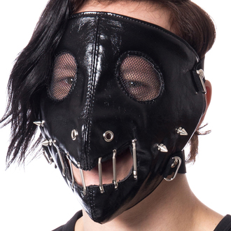 Mask POIZEN INDUSTRIES - HANNIBAL FACE - BLACK, POIZEN INDUSTRIES