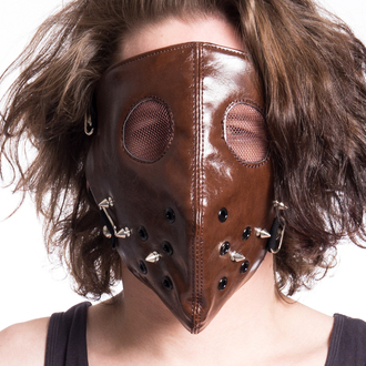 Mask POIZEN INDUSTRIES - HANNIBAL FACE - BROWN, POIZEN INDUSTRIES