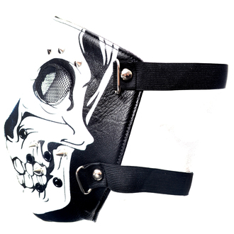 Mask POIZEN INDUSTRIES - SKULL FACE - BLACK, POIZEN INDUSTRIES