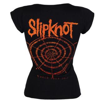 t-shirt metal women's Slipknot - The wheel - ROCK OFF, ROCK OFF, Slipknot