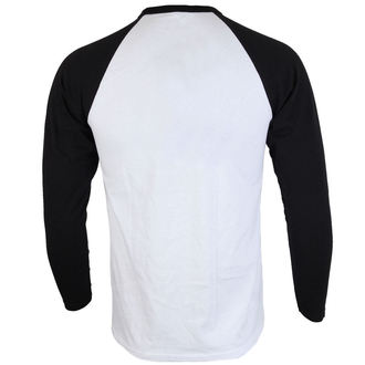 T-shirt men's with long sleeves Slayer - Skulls Raglan - ROCK OFF, ROCK OFF, Slayer