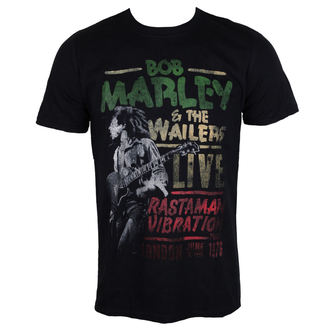 t-shirt metal men's Bob Marley - Rastaman Vibration - ROCK OFF, ROCK OFF, Bob Marley