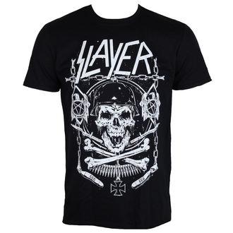 t-shirt metal men's Slayer - Skull & Bones - ROCK OFF - SLAYTEE36MB