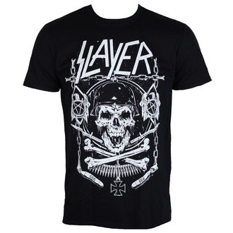 t-shirt metal men's Slayer - Skull & Bones - ROCK OFF, ROCK OFF, Slayer