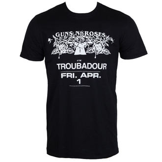 t-shirt metal men's Guns N' Roses - Troubadour - ROCK OFF, ROCK OFF, Guns N' Roses