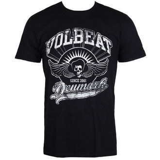 t-shirt metal men's Volbeat - Rise From Denmark - ROCK OFF, ROCK OFF, Volbeat
