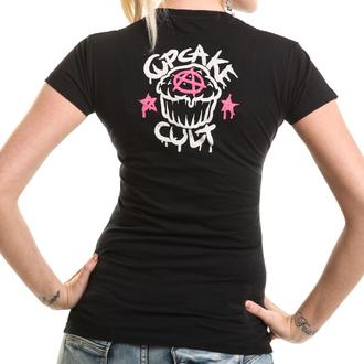 t-shirt women's - PONY MUERTE - CUPCAKE CULT, CUPCAKE CULT