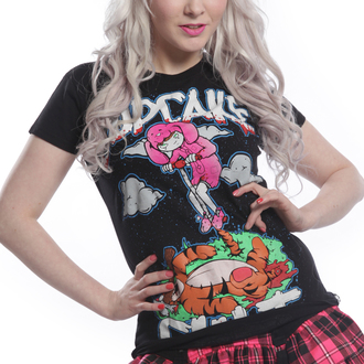 t-shirt women's - TRIGGER Black - CUPCAKE CULT, CUPCAKE CULT