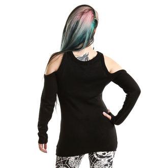 Sweater women's Heartless - HYPNONE BLACK, HEARTLESS