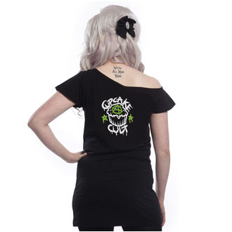 t-shirt women's - VOODOO DRAGON OFF SHOULDER - CUPCAKE CULT, CUPCAKE CULT