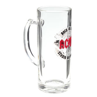 Beer glass AC / DC - Rock or Bust - F.B.I., F.B.I., AC-DC