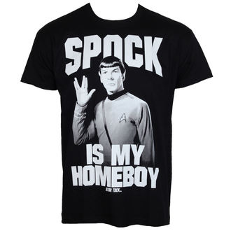 film t-shirt men's Star Trek - Spock Is My Homeboy - HYBRIS - CBS-1-ST014-H39-13-BK