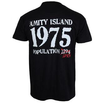 film t-shirt men's JAWS - Bigger Boat - HYBRIS - UV-1-JAWS006-H61-5-BK