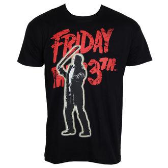 film t-shirt men's Friday the 13th - Jason Voorhees - HYBRIS - WB-1-F13TH005-H62-13-BK