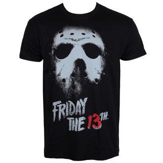 film t-shirt men's Friday the 13th - Black - HYBRIS - WB-1-F13TH006-H63-7-BK
