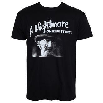 film t-shirt men's A Nightmare on Elm Street - Black - HYBRIS - WB-1-NOES001-H65-7-BK