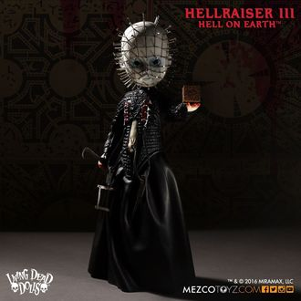 figurine Hellraiser 3rd - Living Dead Dolls Doll - Pinhead, LIVING DEAD DOLLS