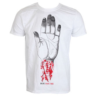 t-shirt metal men's Converge - You Fail Me White - KINGS ROAD - 20087991
