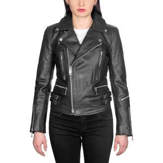 leather jacket women's - Defector Blk Nick - STRAIGHT TO HELL, STRAIGHT TO HELL