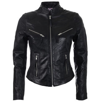 leather jacket women's - GILDA - OSX, OSX