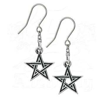 earring ALCHEMY GOTHIC - Black Star, ALCHEMY GOTHIC