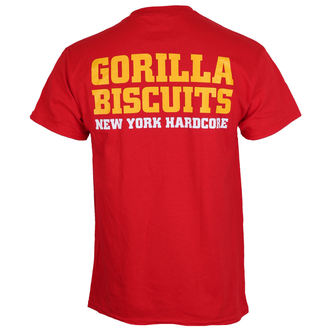 t-shirt metal men's Gorilla Biscuits - Hold Your Ground - KINGS ROAD, KINGS ROAD, Gorilla Biscuits