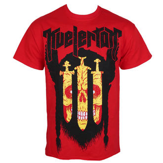t-shirt metal men's Kvelertak - 3 Swords Red - KINGS ROAD - 20073312