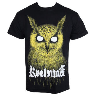 t-shirt metal men's Kvelertak - Barlett Owl Yellow - KINGS ROAD - 20085434